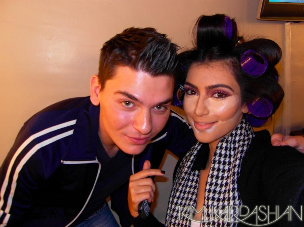 Kim K and mario