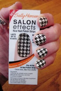 Sally Hansen Salon houndstooth