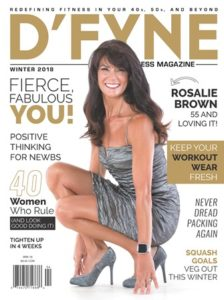 dfyne magazine cover celebrity makeup