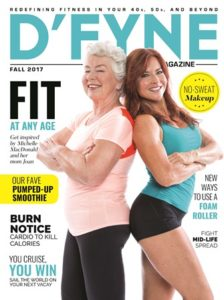 magazine cover dfyne fitness