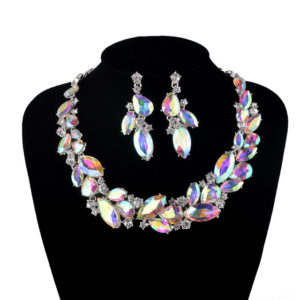necklace crystal AB